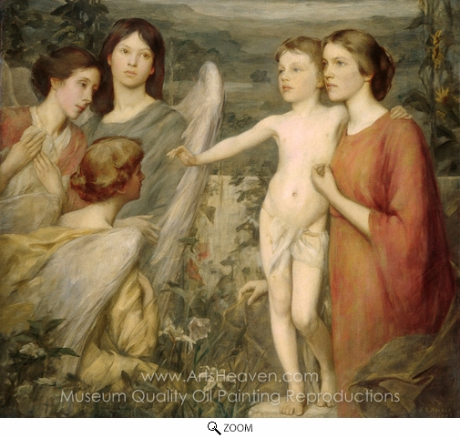 Henry Oliver Walker, A Morning Vision oil painting reproduction