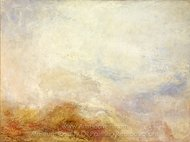 A Mountain Scene painting reproduction, Joseph M. W. Turner