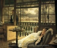 A Passing Storm painting reproduction, James Tissot