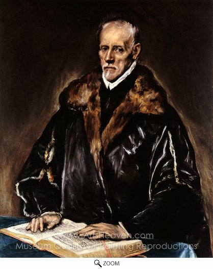 El Greco, A Prelate oil painting reproduction