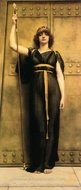A Priestess painting reproduction, John William Godward