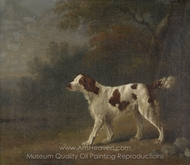 A Setter at the Edge of a Wood painting reproduction, Sawrey Gilpin