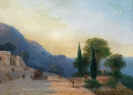 A Summer Day in Crimea painting reproduction, Ivan Aivazovskiy