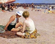 A Summer Vacation painting reproduction, Edward Henry Potthast