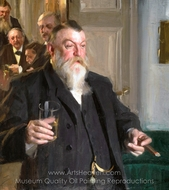 A Toast in Idun painting reproduction, Anders Zorn