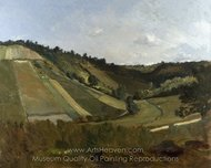 A Valley painting reproduction, Philippe Rousseau