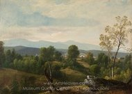 A View of the Valley painting reproduction, Asher Brown Durand