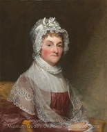 Abigail Smith Adams (Mrs. John Adams) painting reproduction, Gilbert Stuart