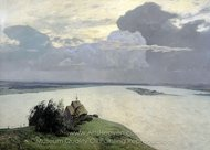 Above Eternal Peace painting reproduction, Isaak Levitan