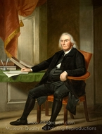 Abraham Davenport painting reproduction, Ralph Earl