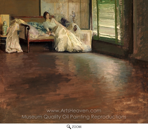Edmund Charles Tarbell, Across the Room oil painting reproduction