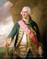 Admiral Edward Hawke, First Baron Hawke painting reproduction, Francis Cotes