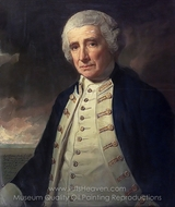 Admiral John Forbes painting reproduction, George Romney