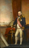 Admiral John Jervis, 1st Earl of Vincent painting reproduction, Domenico Pellegrini
