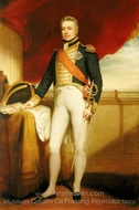 Admiral of the Fleet Sir George Cockburn painting reproduction, Sir William Beechey