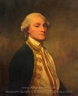 Admiral Sir Chaloner Ogle painting reproduction, George Romney