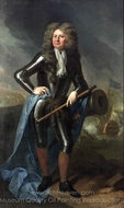 Admiral Sir Cloudesley Shovell painting reproduction, Michael Dahl