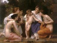 Admiration (L'admiration) painting reproduction, William A. Bouguereau
