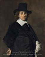 Adriaen van Ostade painting reproduction, Frans Hals