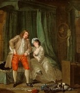 After painting reproduction, William Hogarth