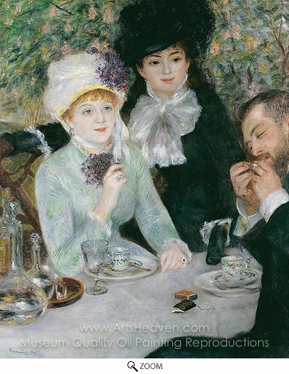 Pierre-Auguste Renoir, After the Luncheon oil painting reproduction