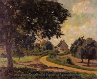 After the Rain painting reproduction, Armand Guillaumin