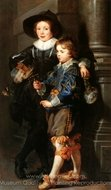 Albert and Nicolas Rubens painting reproduction, Peter Paul Rubens