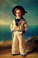 Albert Edward, Prince of Wales painting reproduction, Franz Xavier Winterhalter