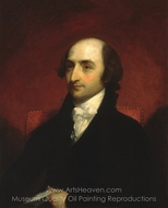 Albert Gallatin painting reproduction, Gilbert Stuart