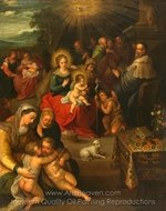 Allegory of Christ painting reproduction, Frans Francken