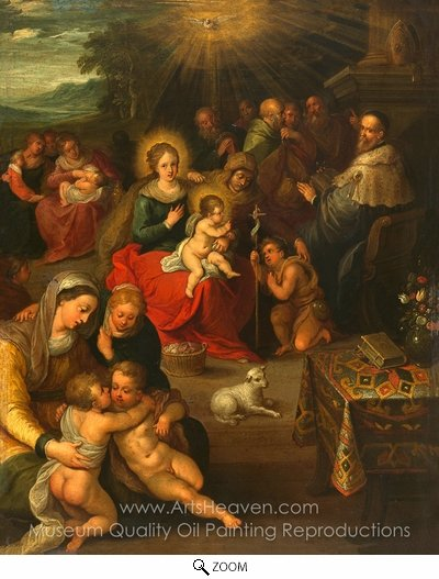 Frans Francken, Allegory of Christ oil painting reproduction