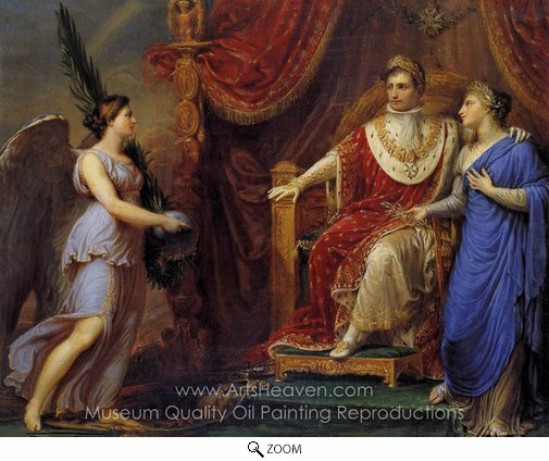 Andrea I. Appiani, Allegory on the Peace of Pressburg oil painting reproduction