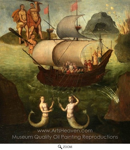 Frans Francken, Allegory: the Ship of State oil painting reproduction