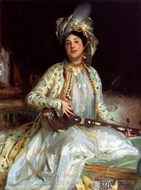 Almina, Daughter of Asher Wertheimer painting reproduction, John Singer Sargent