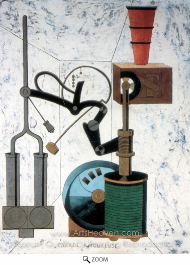 Francis Picabia, Amorous Parade oil painting reproduction