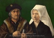 An Elderly Couple painting reproduction, Jan Gossaert