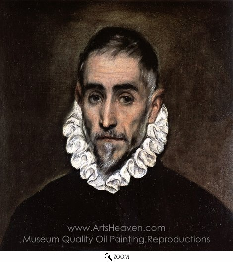 El Greco, An Elderly Gentleman oil painting reproduction