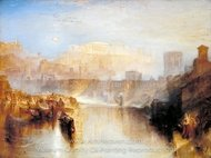 Ancient Rome, Agrippina Landing with the Ashes of Germanicus painting reproduction, Joseph M. W. Turner