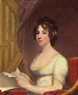 Anna Maria Brodeau Thornton (Mrs. William Thornton) painting reproduction, Gilbert Stuart