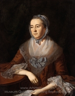 Anne Catharine Hoof Green painting reproduction, Charles Willson Peale