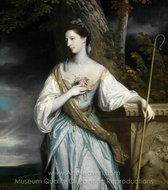 Anne Dashwood, Later Countess of Galloway painting reproduction, Sir Joshua Reynolds