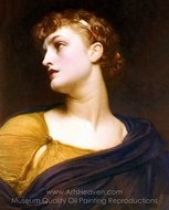 Antigone painting reproduction, Lord Frederic Leighton