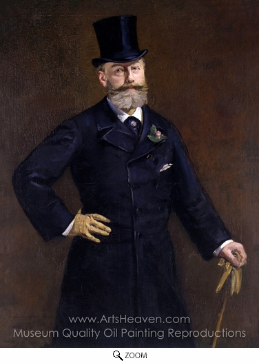Édouard Manet, Antonin Proust oil painting reproduction
