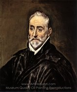 Antonio de Covarrubias painting reproduction, El Greco