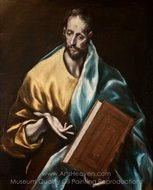 Apostle St James the Less painting reproduction, El Greco