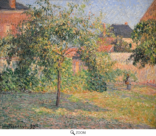 Camille Pissarro, Apple Tree in the Meadow, Eragny oil painting reproduction