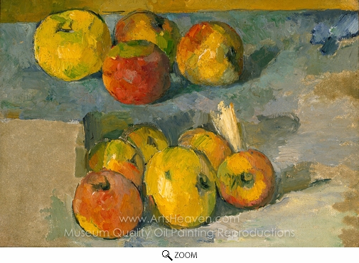 Paul Cézanne, Apples oil painting reproduction