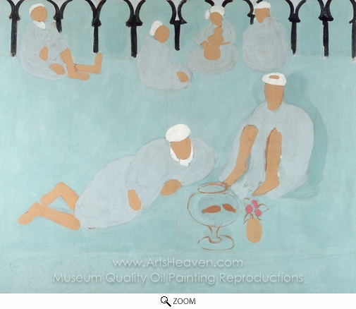 Henri Matisse, Arab Coffeehouse oil painting reproduction