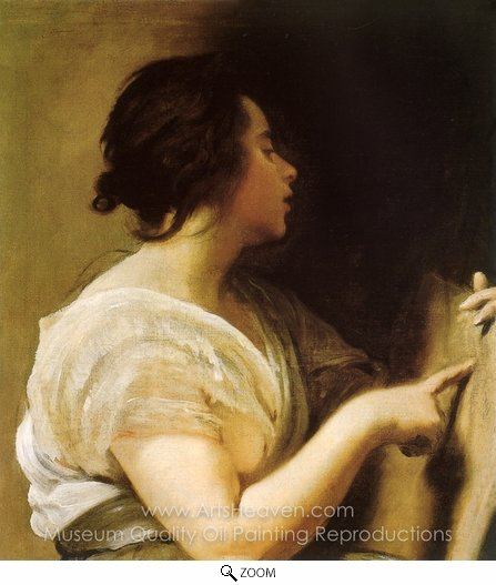 Diego Velazquez, Arachne (A Sybil) oil painting reproduction