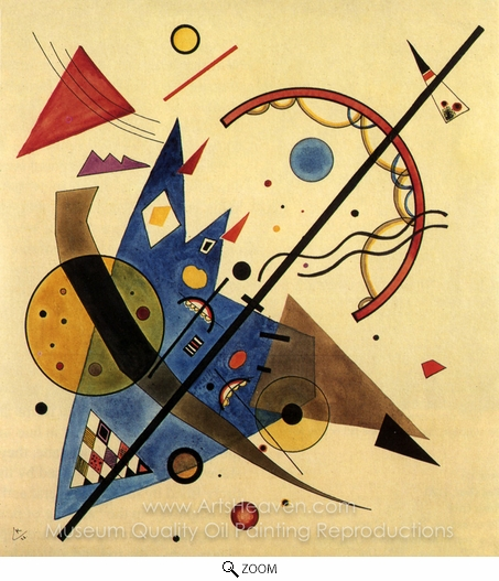Wassily Kandinsky, Arch and Point oil painting reproduction